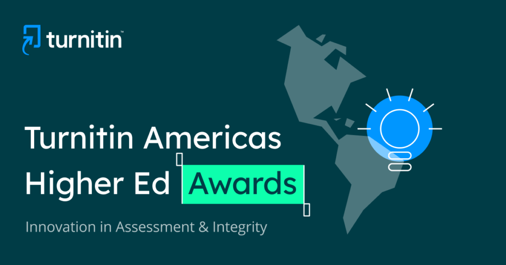 Turnitin Americas Higher Education Awards